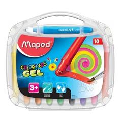 Voščene barvice Maped Color'peps gel, 10 kosov