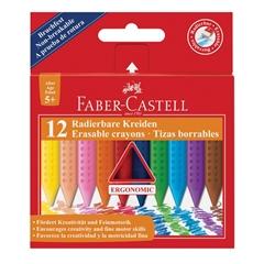Voščene barvice Faber-Castell Grip, 12 kosov