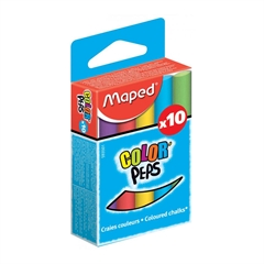 Kreda Maped Color'Peps, barvna, 10 kosov