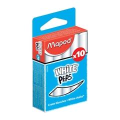 Kreda Maped White'Peps, bela, 10 kosov