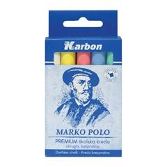 Kreda Karbon Marko Polo, barvna, 10 kosov