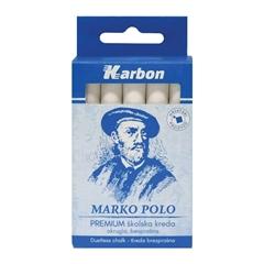Kreda Karbon Marko Polo, bela, 10 kosov