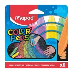 Kreda Maped Color'Peps Jumbo, 6 kosov