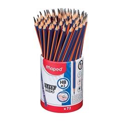 Grafitni svinčnik Maped Black'peps, HB, 72 kosov