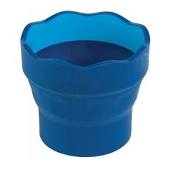 Lonček za vodo Faber-Castell Click&Go, moder