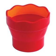 Lonček za vodo Faber-Castell Click&Go, rdeč