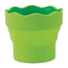 Lonček za vodo Faber-Castell Click&Go, zelen