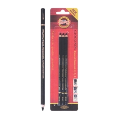 Oglje v svinčniku Koh-i-noor Gioconda, 3 kosi