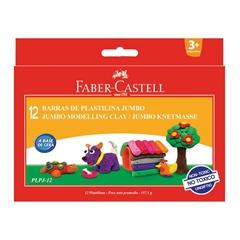 Plastelin Faber-Castell, 12 kosov