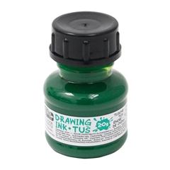 Tuš za risanje Koh-i-noor, zelen, 20 ml