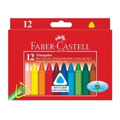 Voščene barvice Faber-Castell Triangular, 12 kosov