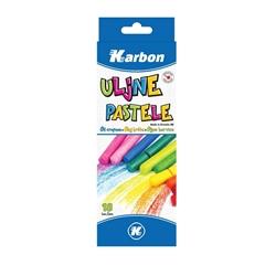 Oljne voščene barvice Karbon, 18 kosov