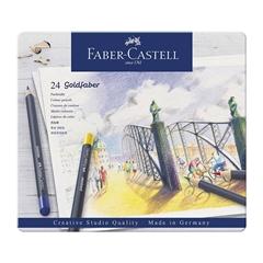 Barvice Faber-Castell Goldfaber Parmanent, 24 kosov