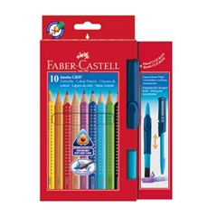 Barvice Faber-Castell Grip Jumbo, 10 kosov