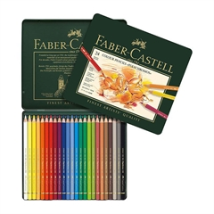Barvice Faber-Castell Polychromos, 24 kosov