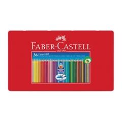 Barvice Faber-Castell Grip, eco, 36 kosov