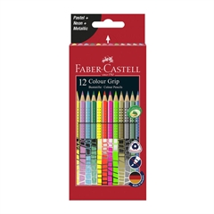 Barvice Faber-Castell Grip Special, 12 kosov