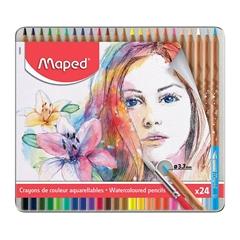 Akvarelne barvice Maped Artists, 24 kosov