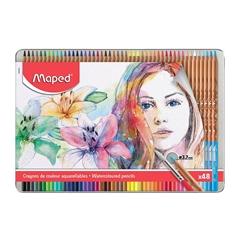 Akvarelne barvice Maped Artists, 48 kosov