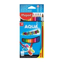 Akvarelne barvice Maped Color'peps, 12 kosov