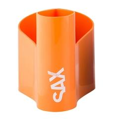 Lonček za pisala Sax Loop, oranžen