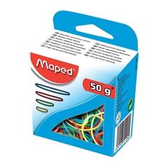 Elastike Maped, ozke, barvne, 50 g