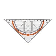 Geotrikotnik Rotring, 14 cm