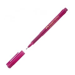 Flomaster Faber-Castell Broadpen, 0.8 mm, roza