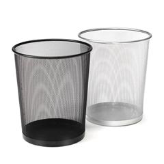 Koš za smeti, srebrn, 20 L