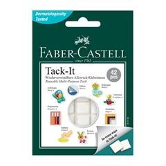 Lepilne blazinice Faber-Castell, bele