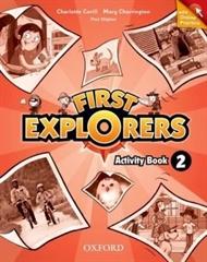 FIRST EXPLORERS 2, delovni zvezek s kodo za online dostop za angleščino v 3. razredu osnovne šole, MKT