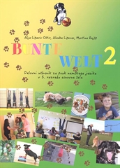 BUNTE WELT 2, delovni učbenik za nemščino kot izbirni predmet v 5. razredu osnovne šole