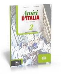 AMICI D`ITALIA 2, delovni zvezek za italijanščino kot izbirni predmet za drugi tuji jezik v 8. in 9. razredu osnovne šole