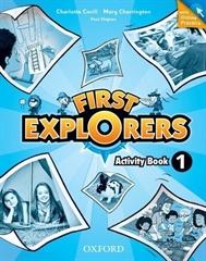 FIRST EXPLORERS 1, delovni zvezek s kodo za online dostop za angleščino v 2. razredu osnovne šole, MKT