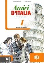 AMICI D`ITALIA 1, delovni zvezek za italijanščino kot izbirni predmet za drugi tuji jezik v 7. in 8. razred osnovne šole