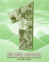 ICH UND DEUTSCH 1, delovni zvezek za nemščino v 4. razredu osnovne šole