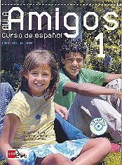 AULA AMIGOS INTERNACIONAL 1, učbenik z zgoščenko za španščino kot izbirni predmet v 7. in 8. razredu osnovne šole, MKT