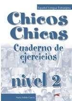CHICOS CHICAS 2, delovni zvezek za španščino kot izbirni predmet v 8. in 9. razredu osnovne šole, DZS