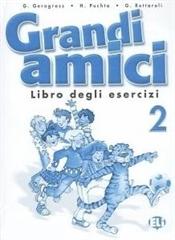 GRANDI AMICI 2, delovni zvezek za italijanščino kot drugi jezik v 4. razredu osnovne šole na narodnostno mešanem območju Slovenske Istre, MKT