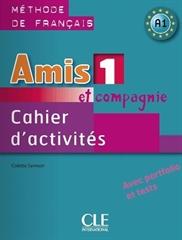 AMIS ET COMPAGNIE 1, delovni zvezek za francoščino v 7. in 8. razredu osnovne šole , DZS