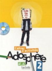 ADOSPHERE 2, delovni zvezek za francoščino v 8. in 9. razredu osnovne šole