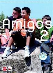 AULA AMIGOS INTERNACIONAL 2, učbenik za španščino kot izbirni predmet v 8. in 9. razredu osnovne šole, MKT