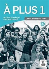 A PLUS! 1, delovni zvezek za francoščino kot izbirni predmet v 7. in 8. razredu osnovne šole