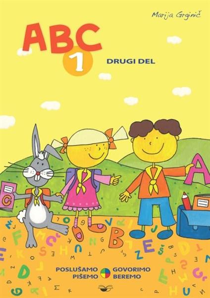 ABC 1, 2. del - prenova 2013, samostojni delovni zvezek za slovenščino-jezik v 1. razredu osnovne šole