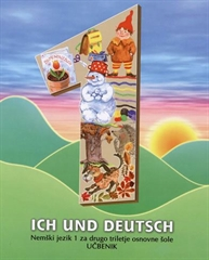 ICH UND DEUTSCH 1, učbenik za nemščino v 4. razredu osnovne šole