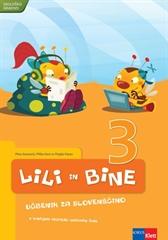 LILI IN BINE 3, učbenik za slovenščino v 3. razredu osnovne šole