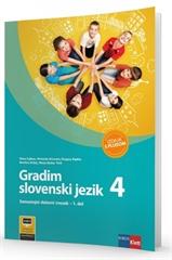 GRADIM SLOVENSKI JEZIK 4 - IZDAJA S PLUSOM, samostojni delovni zvezek za slovenščino v 4. razredu osnoven šole