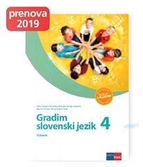 GRADIM SLOVENSKI JEZIK 4 - IZDAJA S PLUSOM, učbenik za slovenščino v 4. razredu osnovne šole
