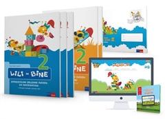 LILI IN BINE 2, komplet C, samostojni delovni zvezek za matematiko in slovenščino + koda in priloga za angleščino