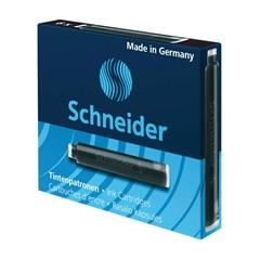 Črnilni vložek Schneider, črn, 6 kosov